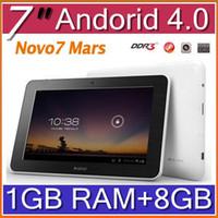 Wholesale DHL Ainol Novo Mars Tablet PC Cortex A9 Android Ainol novo Aurora hot sale Rena PBA D