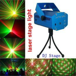 Wholesale High Quality New Blue Mini LED Laser Projector DJ Disco Bar Stage House KTV room Lighting Light Galaxy