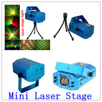 Wholesale Voice Activated Mini Green amp Red Laser DJ Party Led Stage Lighting Light mini laser stage lighting