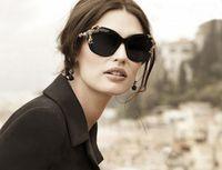no min order - Luxury Queen Sunglasses Gold Rose Baroco Style Sun Glasses Star Favorite New Fashion Eyeglasses min order