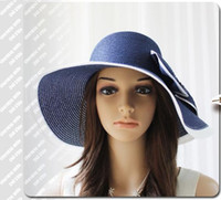 Wholesale 2013 beauitful hats sunshade hats fashion women Visors summer hats beach hats caps knited