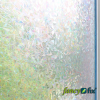 PVC animal etchings - Retail New Arrival cm Static Cling Etched Design Decorative Privacy Window Film