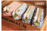 Wholesale Simple Polka Dot Canvas Floral Dots amp Pouch Bag Pen Pencil BAG Pouch Case Pack BOX Case BAG