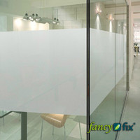 PVC adhesive window films - 90x100cm quot x40 quot Adhesive Free Static Cling Frosted Privacy Decorative Window Film