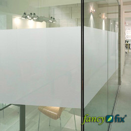 Wholesale 90x100cm quot x40 quot Adhesive Free Static Cling Frosted Privacy Decorative Window Film