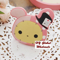 Wholesale Freeshipping NEW Cute cartoon rabbit Earphone Winder Wire holder cable management coiling line device