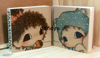 bathing stories - Freeshipping New love story drawing note square shape Diary blank inner page Notebook