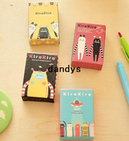 Wholesale Creative Lonely planet series mini size kids paper poker set Kids playing cards cute Stationery