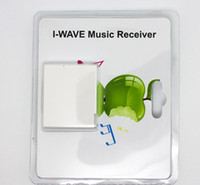 Wholesale I WAVE Wireless Bluetooth Music Receiver A2DP Music Audio Receiver Adapter for iPhone iPad PC Computer Pin Dock Speaker Hot Sale