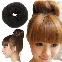 Wholesale CHEAPEST Brand New HAIR BUN RING DONUT SHAPER HAIR STYLER Womens Jewelry High Quality
