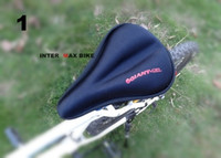 Wholesale Black Road Bikes Saddle Seat Cover Bicycle Mountain Bike Seat Cover