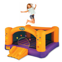 Wholesale New inflatable sports game mini stars jumping castle bouncers advertising inflatables toys for children