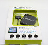 Card Reader + USB HUB COMBO USB 2.0 SD SG-005 Card Reader + USB HUB OTG Connection kit-card Reader HUB COMBO For SAMSUNG Galaxy Tab 2013 Best price