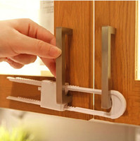 Wholesale Easy Use U shaped Child Safety Locks Baby Safety Products Drawer Cabinet Door Locks Child protection Lock