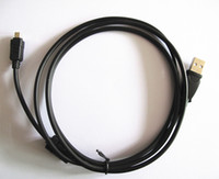 Wholesale High quality Replacement USB Download Cable CB USB6 USB6 for Olympus Digital Cameras SLR Cameras Brand NEW