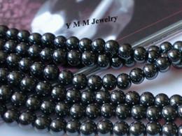 200pcs Fashion Hematite Beads 8mm Round Loose Beads For Bracelet DIY Accessory Wholesale