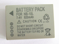 Wholesale NB L NB10L Battery for Canon PowerShot G1 X G15 SX40 HS SX50 HS Digital Camera