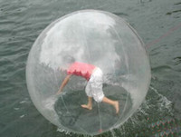 Wholesale Professional manufacturer clear M Walk on Water Walking PVC Ball Roll Ball Inflatable Zorb ball Germany zipper