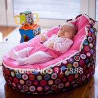 Wholesale original doomoo seat color bubbles baby beanbag newborn baby portable beanbag chair