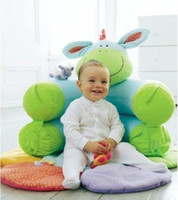 Wholesale baby ELC sofa Cosy Baby Seat Play Mat Nest cartoon cushion green pink retail
