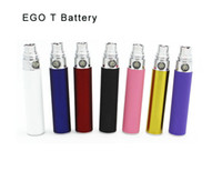 Wholesale OEM Design e cigarette Colorful ego t Battery For CE4 EGO T electronic cigarette Healthy E cigarette vaporizer