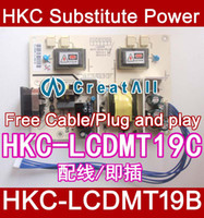 Wholesale NEW HKC Substitute Power board HKC LCDMT19B amp HKC LCDMT19C s9819 z191w z98w power board Free Cable Plug and play