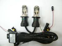 achat en gros de cacha ampoules élevées de croisement-55W AC H4 (h13 9003 9004 9007) lampe haute et basse puissance automatique BI-XENON H4 Hi / Lo ampoule XENON HID ampoules AC caché ampoules au xénon sans ballasts
