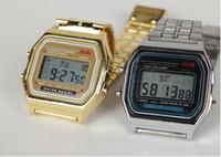 Wholesale 10pcs F W watches f91 fashion thin LED change watches F W sport watch