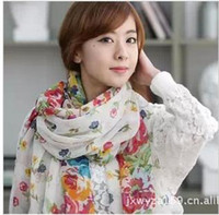 Wholesale new scarf female the spring and autumn period and the han grows rural broken beautifu