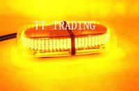 Strobe Light auto amber flashing lights - LED Auto Roof Flash Strobe Magnets Emergency Police light Flashing Lights LED amber