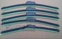 Wholesale New Car windshield black silicone Bracketless soft Wiper Blade