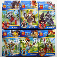 Wholesale 2013 New Ninja CHIMA Ninjago CHIMA TOY Bubble Ninja Puzzle blocks CHIMA Model Set MIC Store