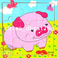 Wholesale Wooden puzzles children s educational toys