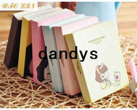 Wholesale cute cookie girl mini diary Notebook Notepad Memo Paper notebook note book Fashion Gift