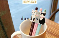 Wholesale cute cats ball pen ball pen gel pen plastic pen Children Gift Fashion New