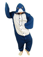 Wholesale Shark Pleuche Jazz Cloth Funny Kigurumi Costume shirt u5 a2G