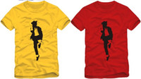 Wholesale Retail Tee new sale summer kids t shirt dance t shirt cool Michael Jackson printed mj t shirt for children cotton