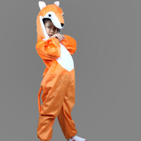 TV & Movie Costumes athletic supply - Lint Children Perform Apparel Fox Halloween Costume Present Accessories Animal Theme Costume Party Product Festival Supplies