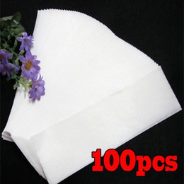 Wholesale 100 Professional Wax Waxing Strips Hair Removal Paper Nonwoven Epilator SPA
