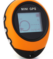 GPS Tracker 65 * 52 * 21 mm  Free Shipping GPS Tracker Portable Mini Handheld GPS Navigation Location Finder For Outdoor Sport Travel Yellow