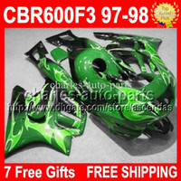 For HONDA !! ! Green CBR600F3 97 98 1997 1998 CBR 600 F3 gre...