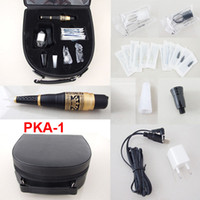 Wholesale Permanent Makeup Kits Cosmetic Tattooing Supply Including Eyebrow Machine Needles Tips Case PKA