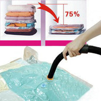 beverage plastic bags - Pieces Hot Sale Large Space Saver Saving Storage Bag Vacuum Seal Compressed Organizer