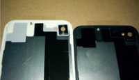 Wholesale For iPhone S Back Glass Battery Housing Door Back Cover Replacement Part with Flash Diffuser