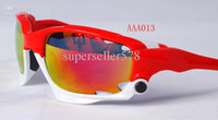 Wholesale sport cycling sunglasses men Armstrong s outdoor Glasses Interchangeable lenses blue white colour