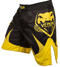 Wholesale Hot Venum Shogun Signature Fight Shorts Yellow