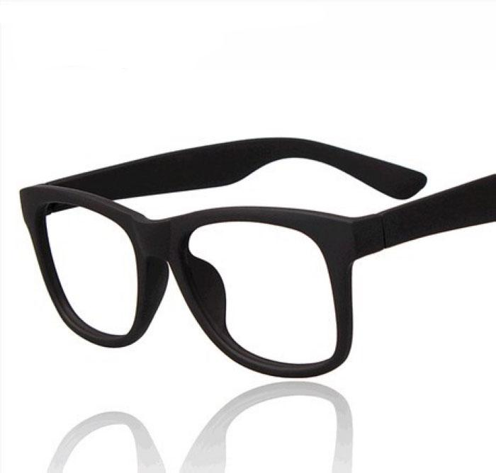 retro black rimmed glasses male korean big box without lenses frames tide frames female frame glasses plain mirror cool sunglasses custom