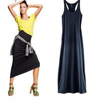 Street Style Bohemian Dresses Sheath/Column Modal priming skirt female sling I-shaped vest dress skirt dress