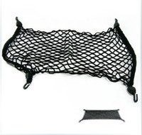 Wholesale Car Trunk Elastic PE Rubber Storage String Mesh Bag Black