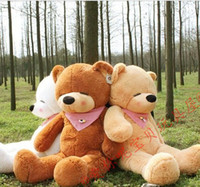 Wholesale Boyds Large Meters Teddy Bear Lovers Big bear Arms Stuffed Animals Toys Plush Doll CM CM CM M CM